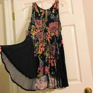Free People Floral Dress Size M Medium
